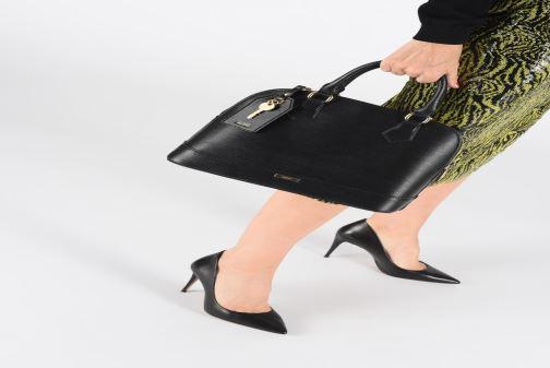 Handtaschen Aldo AFYLLE schwarz ansicht von unten / tasche getragen