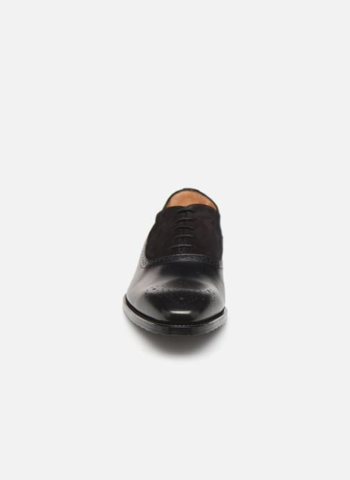 Lace-up shoes Marvin&Co Luxe Cogane - Cousu Goodyear Black model view