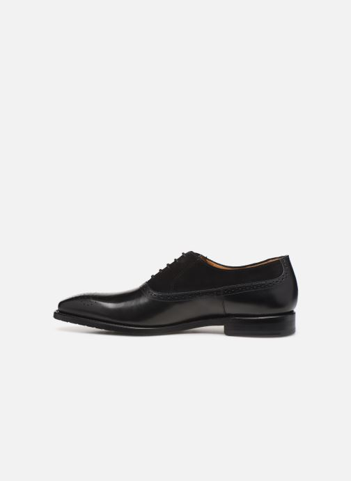 Lace-up shoes Marvin&Co Luxe Cogane - Cousu Goodyear Black front view