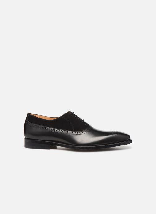 Zapatos con cordones Marvin&Co Luxe Cogane - Cousu Goodyear Negro vistra trasera
