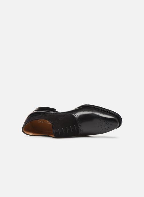 Zapatos con cordones Marvin&Co Luxe Cogane - Cousu Goodyear Negro vista lateral izquierda