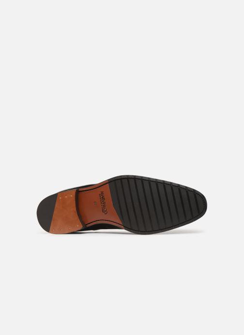 Zapatos con cordones Marvin&Co Luxe Cogane - Cousu Goodyear Negro vista de arriba