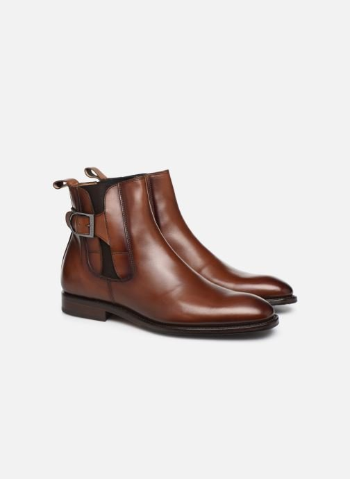Bottines et boots Marvin&Co Luxe Capone - Cousu Goodyear Marron vue 3/4