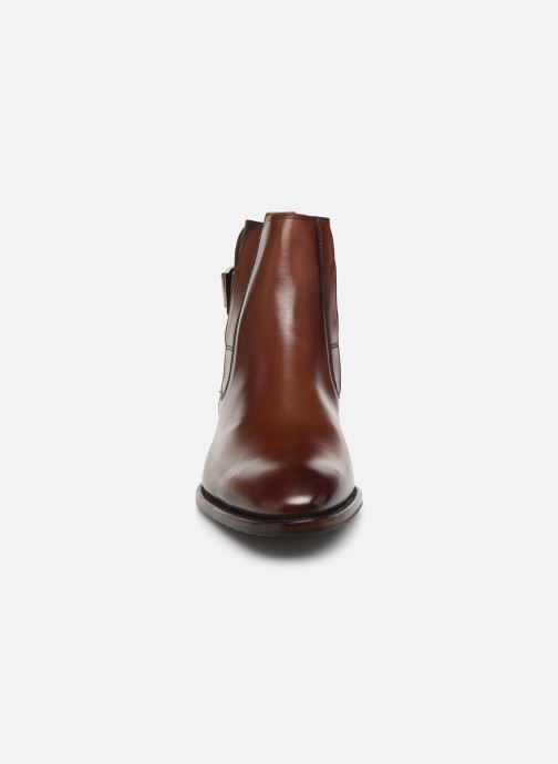 Bottines et boots Marvin&Co Luxe Capone - Cousu Goodyear Marron vue portées chaussures