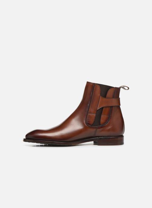 Boots en enkellaarsjes Marvin&Co Luxe Capone - Cousu Goodyear Bruin voorkant