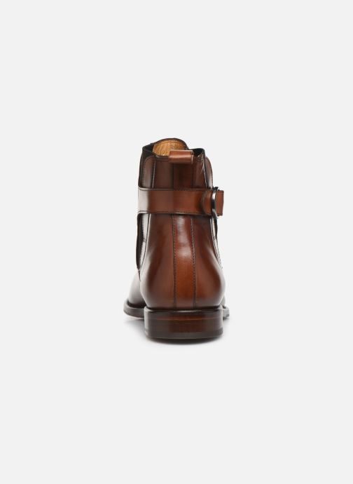 Bottines et boots Marvin&Co Luxe Capone - Cousu Goodyear Marron vue droite