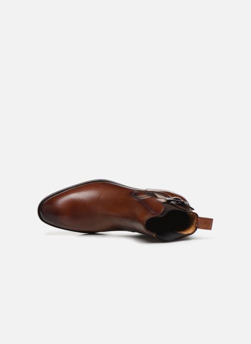 Bottines et boots Marvin&Co Luxe Capone - Cousu Goodyear Marron vue gauche