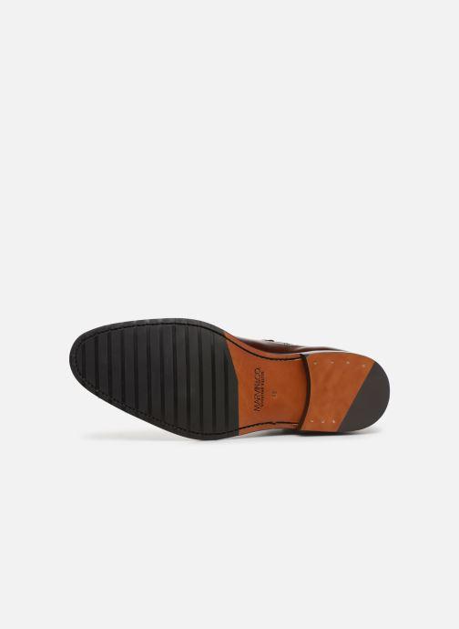 Bottines et boots Marvin&Co Luxe Capone - Cousu Goodyear Marron vue haut
