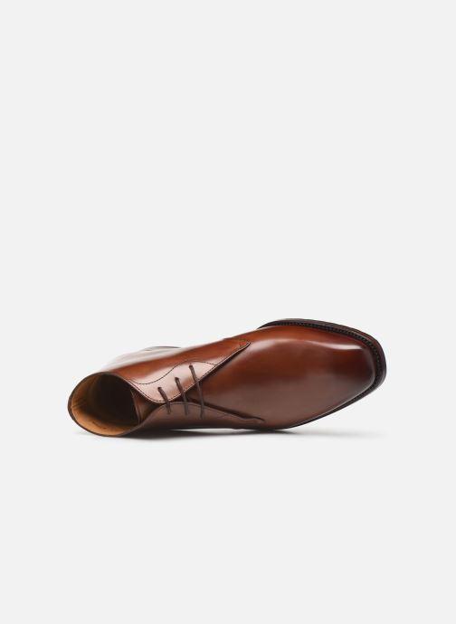 Stivaletti e tronchetti Marvin&Co Luxe Cintito - Cousu Goodyear Marrone immagine sinistra