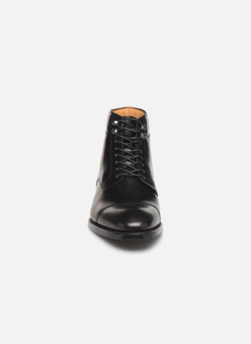 Bottines et boots Marvin&Co Luxe Cardoso - Cousu Goodyear Noir vue portées chaussures
