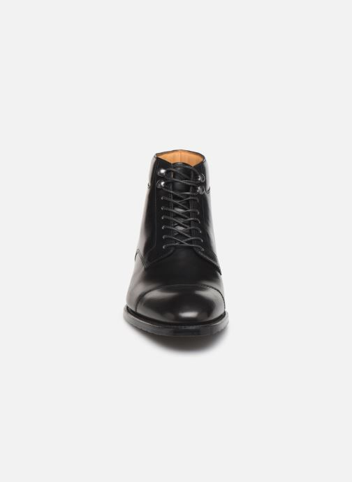 Ankle boots Marvin&Co Luxe Cardoso - Cousu Goodyear Black model view
