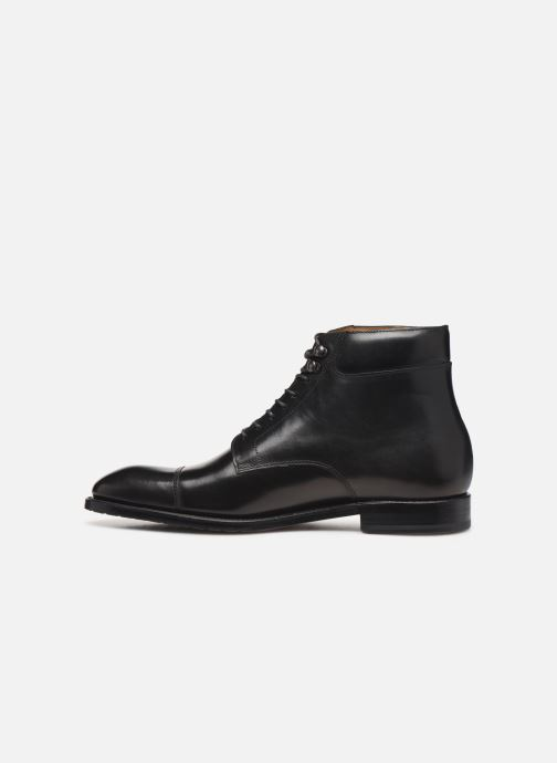 Bottines et boots Marvin&Co Luxe Cardoso - Cousu Goodyear Noir vue face