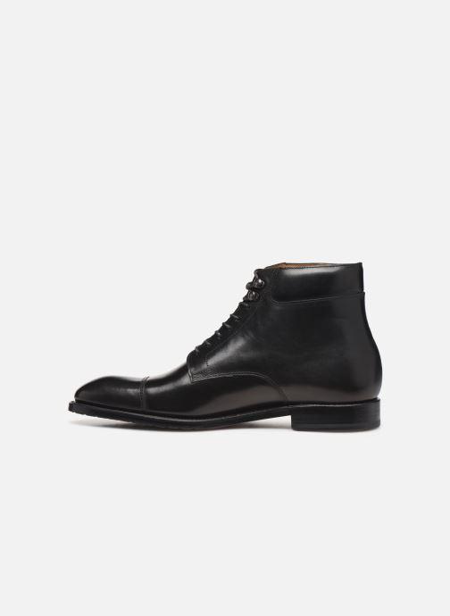 Boots en enkellaarsjes Marvin&Co Luxe Cardoso - Cousu Goodyear Zwart voorkant