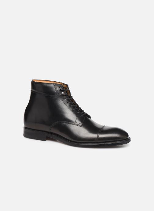 Boots en enkellaarsjes Marvin&Co Luxe Cardoso - Cousu Goodyear Zwart detail