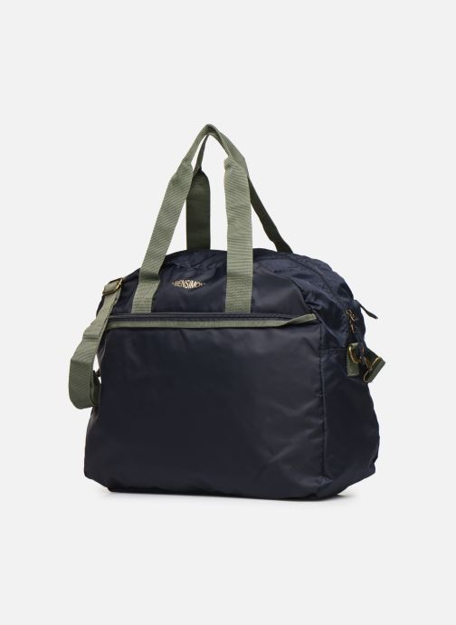 Bolsas de deporte Bensimon COLOR LINE TOUR BAG Azul vista del modelo