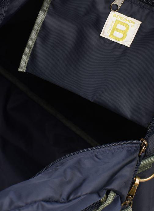 Sacs de sport Bensimon COLOR LINE TOUR BAG Bleu vue derrière