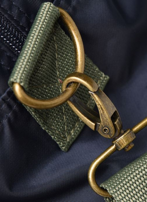 Bolsas de deporte Bensimon COLOR LINE TOUR BAG Azul vista lateral izquierda