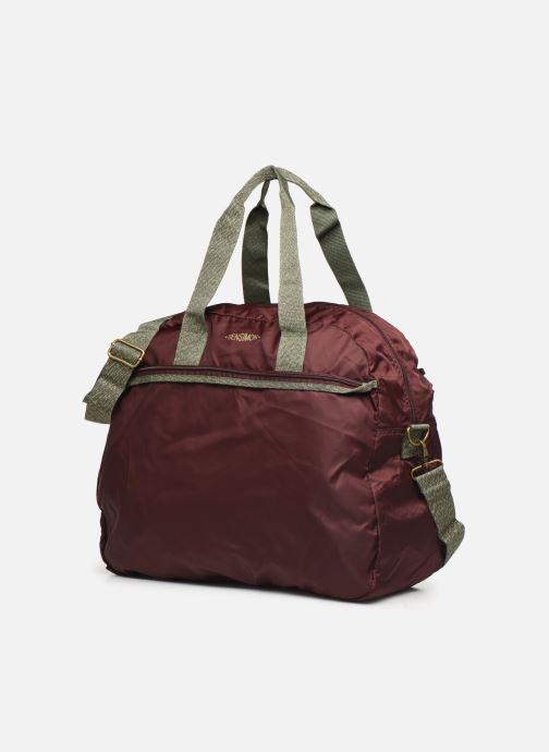 Sports bags Bensimon COLOR LINE TOUR BAG Purple model view