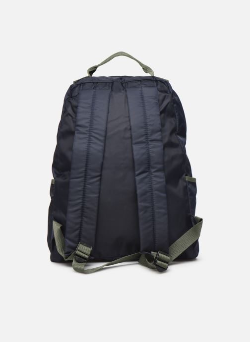 Rucksacks Bensimon COLOR LINE BACKPACK Blue front view