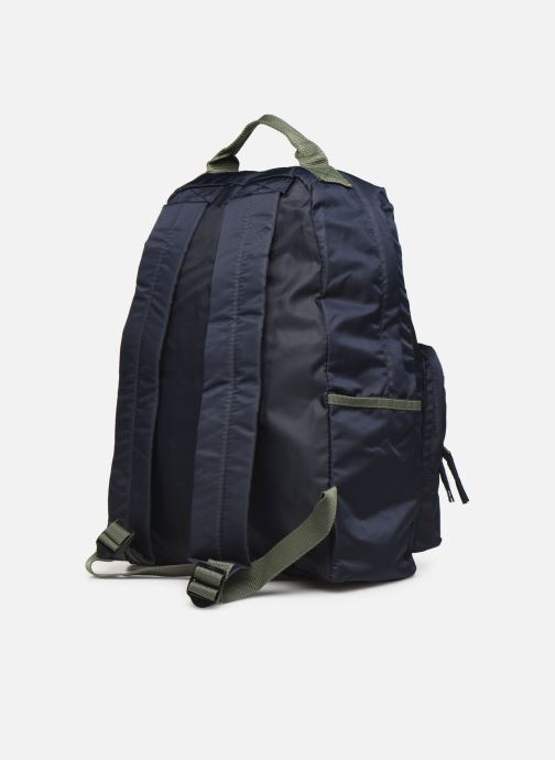 Rucksacks Bensimon COLOR LINE BACKPACK Blue view from the right