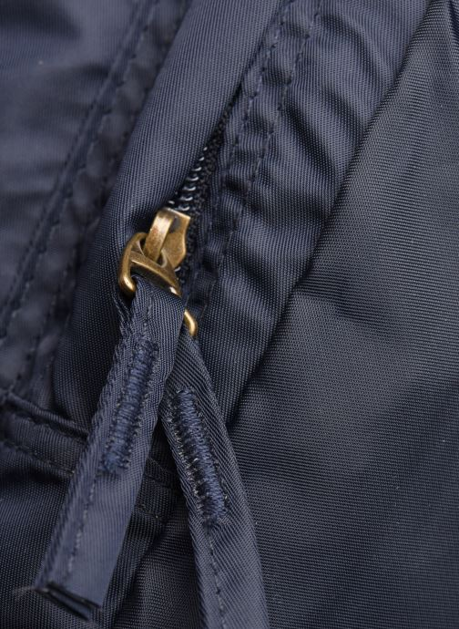 Rucksacks Bensimon COLOR LINE BACKPACK Blue view from the left