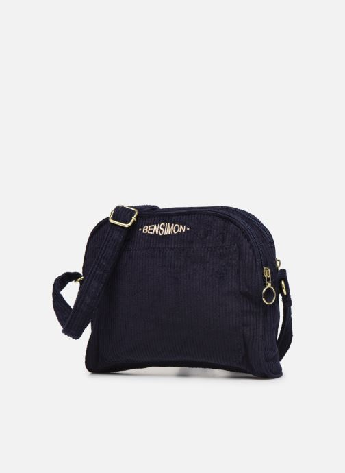 Handtassen Bensimon CORDUROY ROUND BAG Blauw model