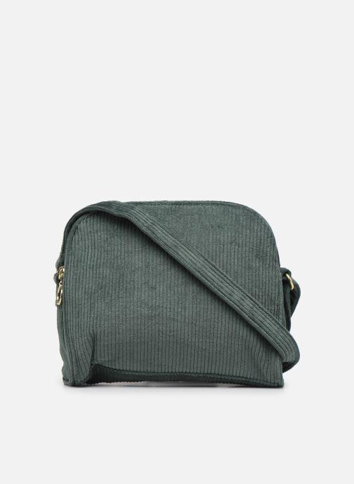Handbags Bensimon CORDUROY ROUND BAG Green front view