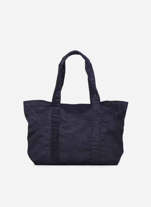 Handbags Bensimon CORDUROY TOTE Blue detailed view/ Pair view