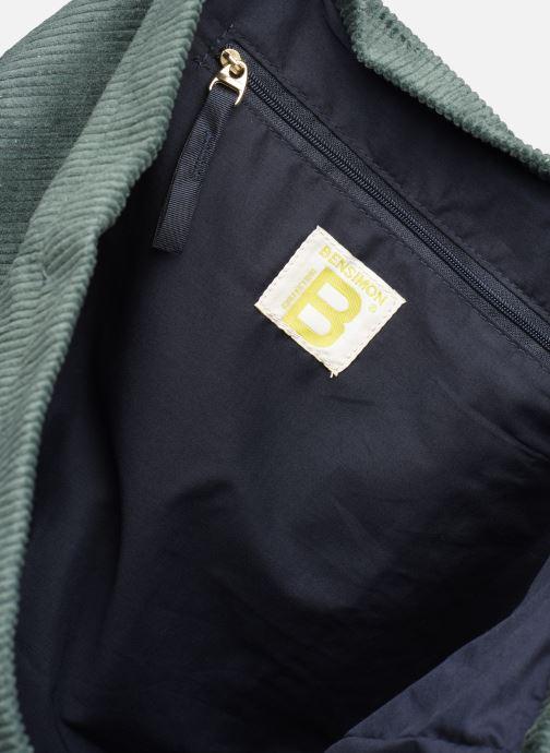Handtaschen Bensimon CORDUROY TOTE grün ansicht von hinten