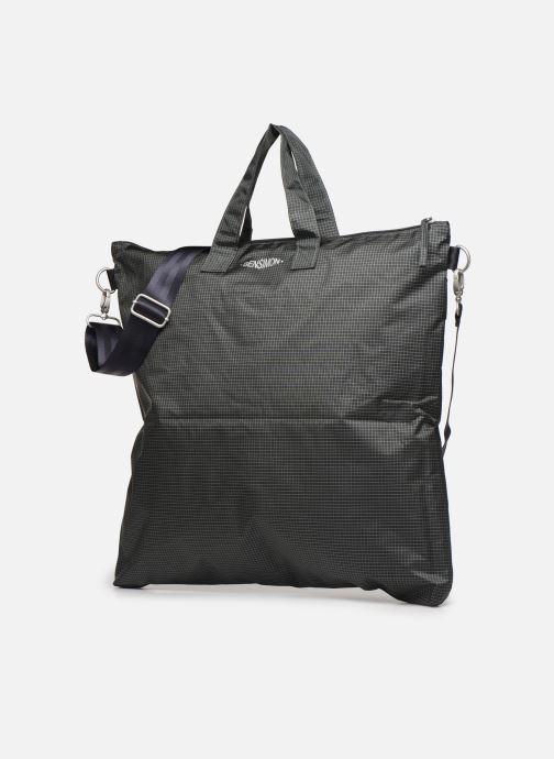 Men's bags Bensimon WORKING LINE HELMET BAG Grey model view