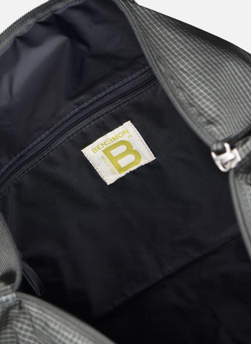 Men's bags Bensimon WORKING LINE HELMET BAG Grey back view
