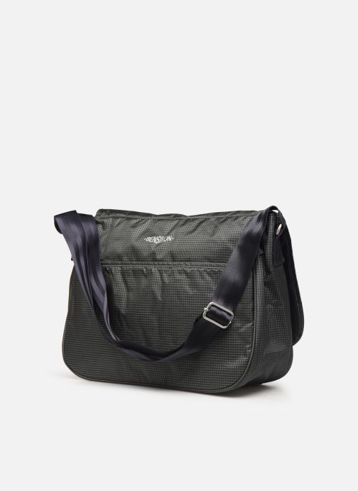 Men's bags Bensimon WORKING LINE BESACE Grey view from the right