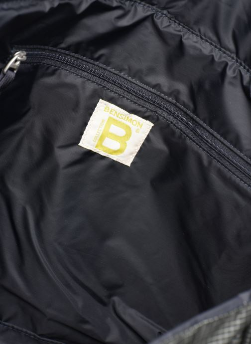 Men's bags Bensimon WORKING LINE BESACE Grey back view