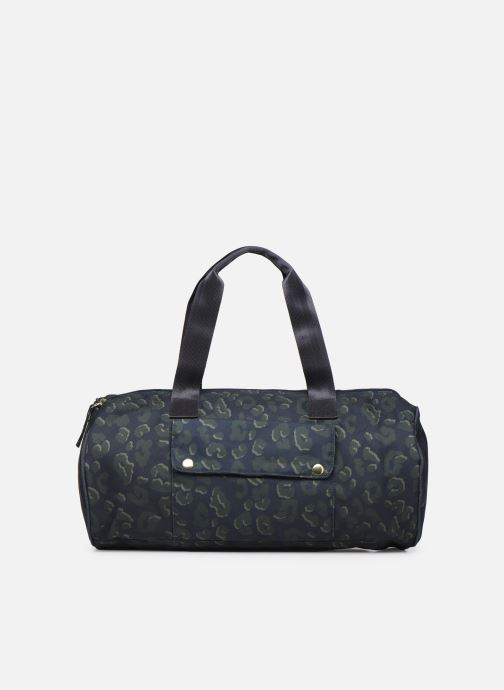 Sacs de sport Bensimon NYLON LEOPARD COLOR BAG Bleu vue face