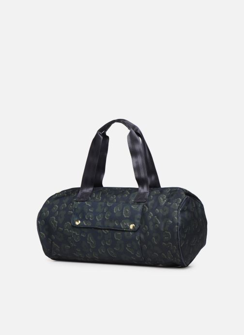 Sports bags Bensimon NYLON LEOPARD COLOR BAG Blue view from the right