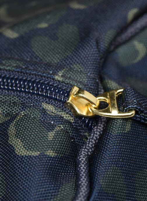 Bolsas de deporte Bensimon NYLON LEOPARD COLOR BAG Azul vista lateral izquierda
