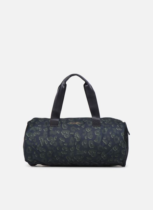 Bolsas de deporte Bensimon NYLON LEOPARD COLOR BAG Azul vista de detalle / par