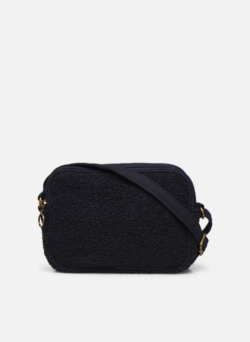Handtaschen Bensimon LITTLE BESACE SHEARLING blau ansicht von vorne