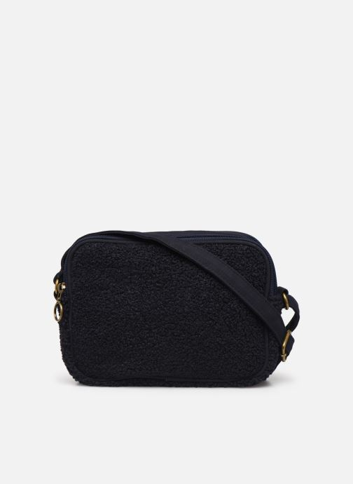 Handbags Bensimon LITTLE BESACE SHEARLING Blue front view