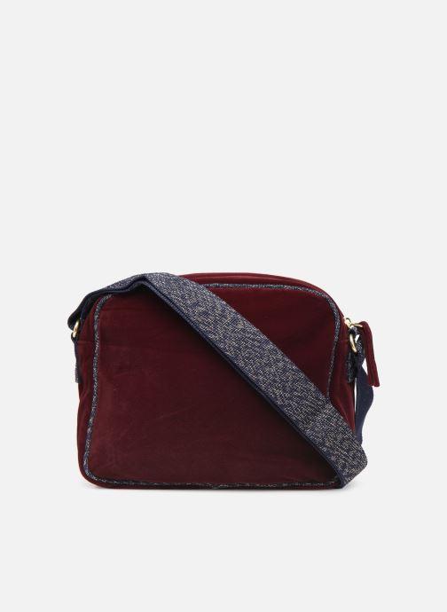 Handtaschen Bensimon SHINY VELVET SMALL BESACE weinrot ansicht von vorne