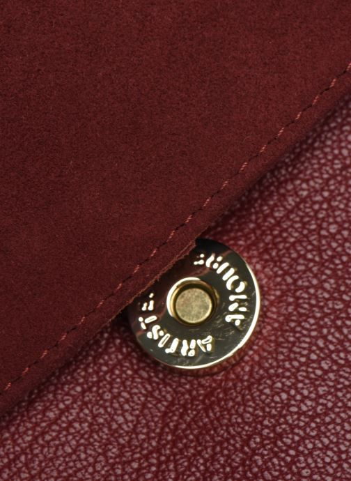 Håndtasker Craie MINI LECON Bordeaux se bagfra