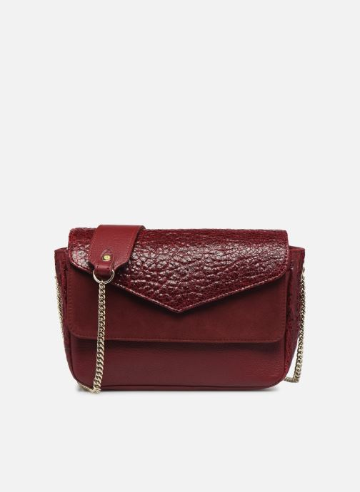 Håndtasker Craie MINI LECON Bordeaux detaljeret billede af skoene