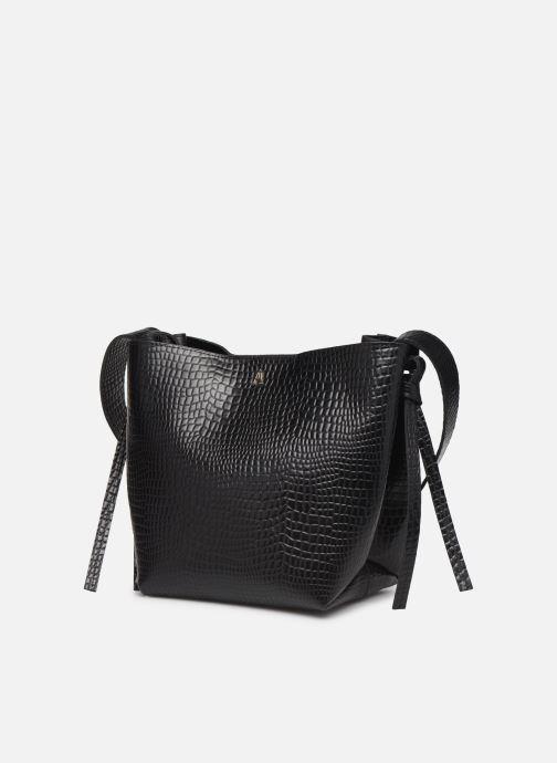 Handtaschen Craie COUTUME schwarz schuhe getragen