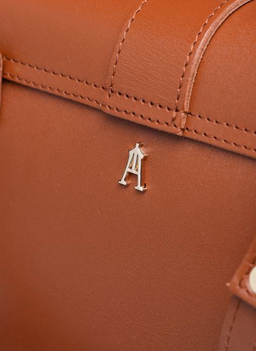 Bolsos de mano Craie GEOGRAPHIE Marrón vista lateral izquierda