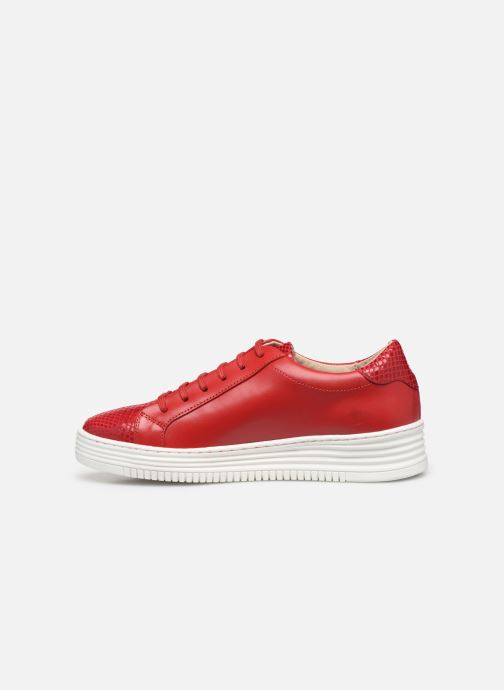 Trainers Georgia Rose Glossya Red front view