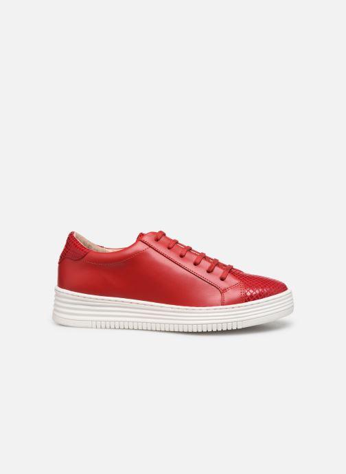 Sneakers Georgia Rose Glossya Rood achterkant