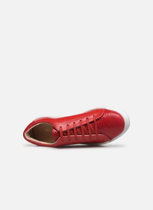 Sneaker Georgia Rose Glossya rot ansicht von links