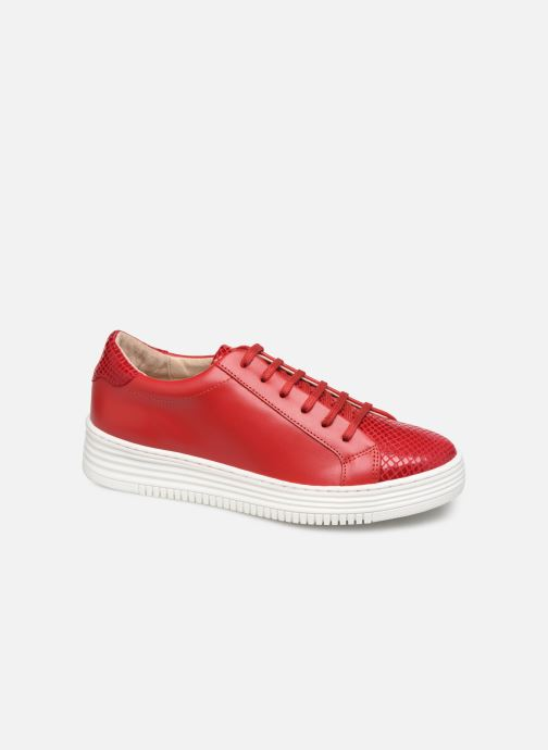 Trainers Georgia Rose Glossya Red detailed view/ Pair view
