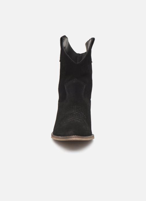 Bottines et boots Georgia Rose Acheyen Noir vue portées chaussures