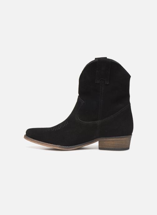 Bottines et boots Georgia Rose Acheyen Noir vue face